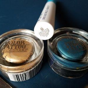 NEW Almay mascara and Color Tattoo eye shadow